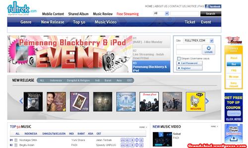 Homepage Fultrek.com