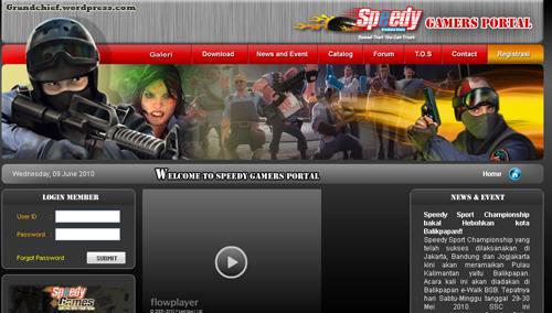 Homepage game.telkomspeedy.com