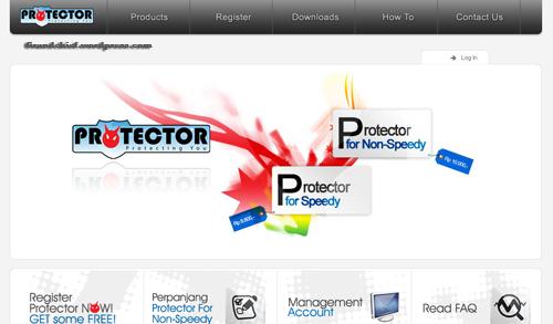 homepage protector.telkomspeedy.com