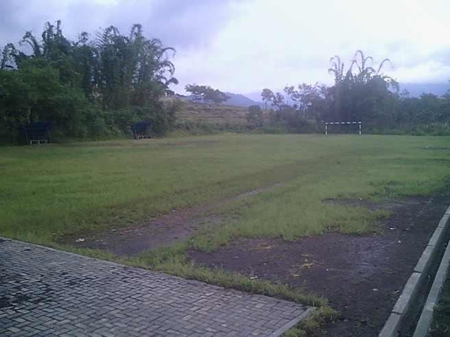 lapangan sepakbola kota Batu